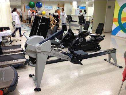 Foto 2 -  Remoergômetro do Centro de Reabilitação do ICESP